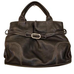 Vintage 90s KENNETH COLE Leather Handbag Bag
